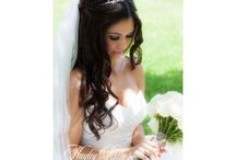 Long Hair Bridal Styles / Here are a selection of my brides who have loved wearing their down for their day. See more of my work at http://www.beautifulhair4weddings.co.uk/gallery.html