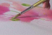Cómo pintar un cerezo