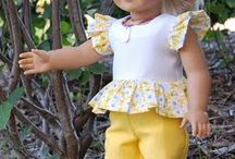 Doll clothing pattern