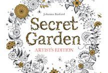 Illustrations&gardens&flowers