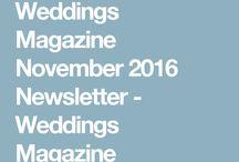 Weddings Magazine Newsletters