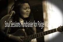 SOUL SESSIONS SA FUNDRAISING / Fundraiser night for Paige Mac