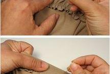 coudre élastique sur tissus