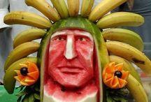 Arte con Fruta