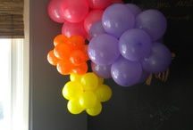 Zaids balloon birthday / by Jessica Puente