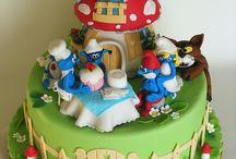 Cumpleaños EVA!!! Los Pitufos!!!!