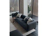 Salas modernas e confortaveis