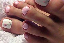 Nail art - Pedi