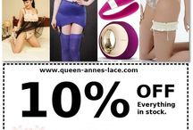 Discount code for our shop / Feel free to use this discount code for any of our items in our vintage lingerie and sex toy shop