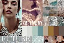 SS17 Castaway Bay / SS17 -BOHO BOTANICAL CASTAWAY THEME UNDER THE SEA BOTANICALS CREATURES OF THE DEEP VINTAGE FLORALS  SPECIMEN CREATURES HAND DRAWN STYLES MUTED TONES DISTRESSED SHIPWRECK TEXTURES NATURAL FIBRES / ROPES/CROCHET