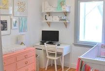 Nursery/office and shared rooms