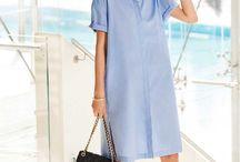 Couture - Oversize shirt dress