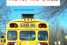 School Bus poster