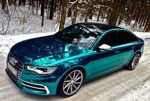 Horváth Szilárd Blue Chrome wrapped Audi…
