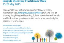 Insights Discovery Practitioner Week / A whole week dedicated to our wonderful Practitioner Community. We share new exercises, facilitation tips, talked preferences and shared our best moments with ‪#‎InsightsDiscovery‬.