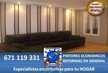 Pintura Decorativa / Especialistas en viviendas habitadas y amuebladas
