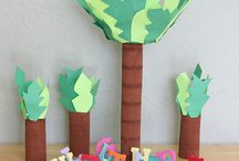 "Book: Chicka Chicka Boom / Activity ideas inspired by the children's book: ""Chicka Chicka, Boom Boom"""
