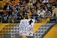Steelers Fan Signs / A collection of the best signs made by Steelers fans at the games! / by Pittsburgh Steelers Football
