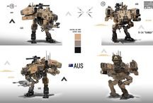 Droid & Mech Models and Concepts