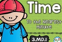 Time / Teaching time to your students? Then you're going to LOVE the ideas, resources, FREE downloads, and more included at this board! Your students will be masters of the clock in no time! You can use these with your preschool, Kindergarten, 1st, 2nd, 3rd, 4th, 5th, and 6th grade classroom or homeschool students!