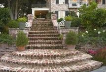 HOME Stairs Brick Outside / HOME Stairs Brick Outside