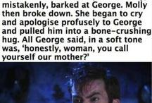 George and Fred Weasley