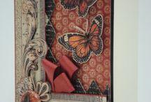 Cards - Butterflies and birds