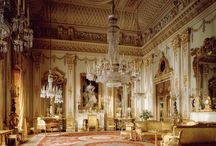 Royal residences of Great Britain / British grandeur expressed in the rooms of the Queen's royal residences:Buckingham Palace, Clarence House, Balmoral, Sandringham and Windsor Castle. / by David DeLaunay