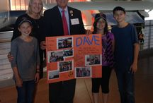 Dave Waggoner's Farewell Party 9/9/2014 / Dave Waggoner retires after 22 years as Airport Director.