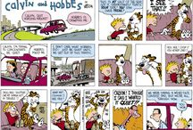 Calvin and Hobbes :) / by Robin Parrino