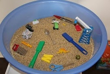Sensory Table Fun / by Ashley Schuler-Wright