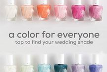 wedding season / Whether bride, bridesmaid, mother of the bride, or just a guest – there's a perfect shade for everyone on that special day.