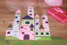 Tafel kinderfeest / Kasteel onder tafelzeil