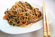 Asian Inspired Food / by Tiffany R