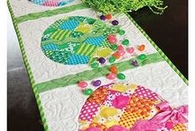 Easter quilting