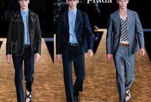 Prada uomo / Prada collezione e catalogo primavera estate e autunno inverno abiti abbigliamento accessori scarpe borse sfilata uomo.