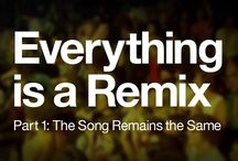 Everything is a Remix / Remixing is a folk art but the techniques are the same ones used at any level of creation: copy, transform, and combine. You could even say that everything is a remix.