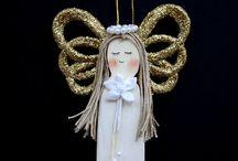 andělé / nápady