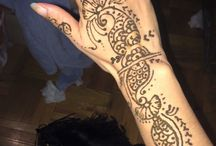 Weekend fun with henna