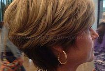hair style women over 50 / Pelos mami