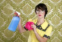 Limpieza para el hogar / by Natalie Cherigny