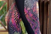 Crepshot leggings