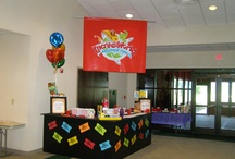 IncrediWorld Information Counter / Fun ideas for decorating your VBS Information Center