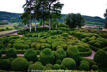 les jardins romantiques et pittoresques de Marqueyssac