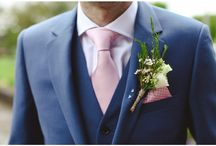 blush navy wedding
