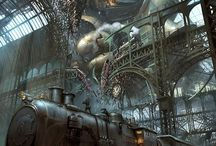 Steampunk environments