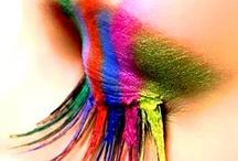 Eyelash rainbow