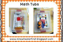 Math - Tub Ideas
