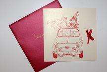 Wedding / Grafica per matrimonio: Partecipazioni - Tableau - Menu - Segnatavoli - Confettata