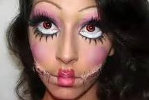 hollowen makeup iders